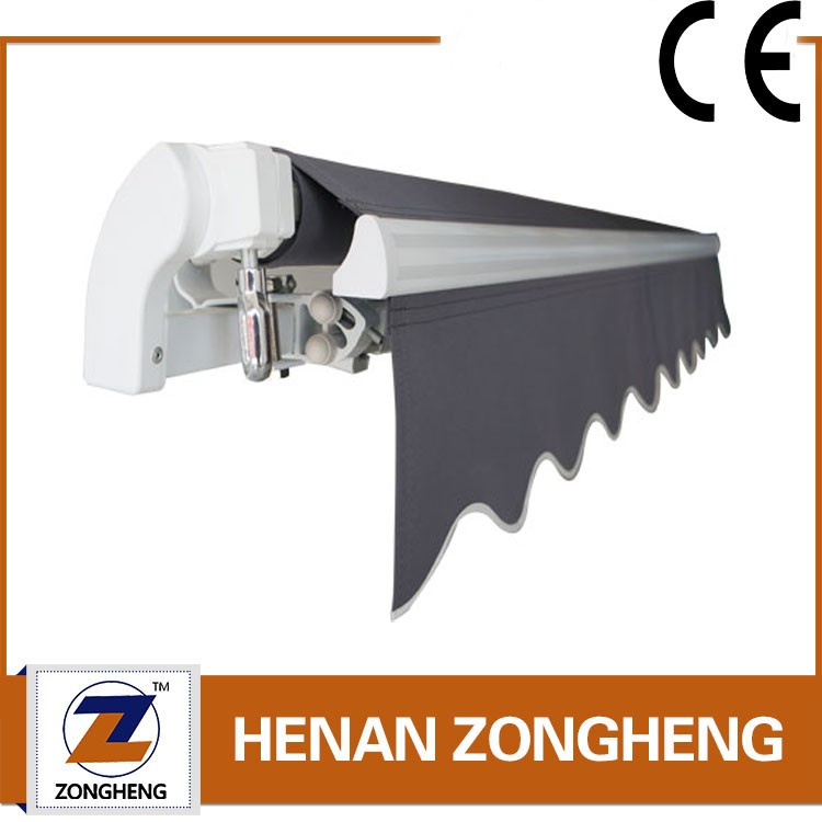 Popular Non cassette Retractable Awning manual