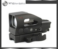 Vector Optics Hunting 1x23x34 Red and Green Dot Sight Scope with Quick Release 20mm Weaver Mount Base fit 12ga Shotgun .223 .223