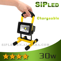 Good price Super Bright Auto Portable 30w led rechargeable flood light from china ,Rechargeable