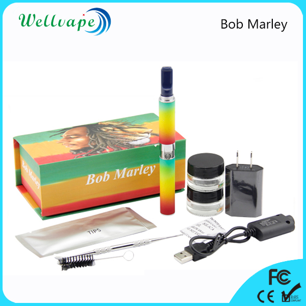 Hot sale portable Bob Marley dry herb chamber vaporizer pen