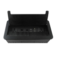 ZSCC06 Black Multifunctional Cable Cubby Box