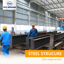 Light Steel Structure Workshop Prefab Steel Structure Metal Frame Prefabricated Garage Home Workshop