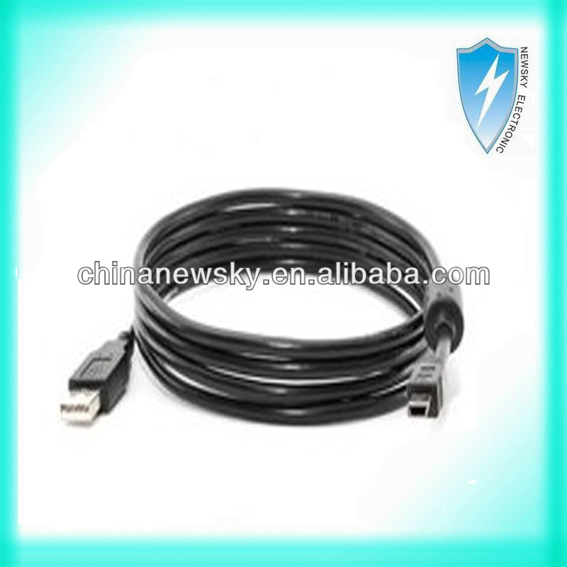 for PS3 Controller Charge Cable, Black (6 Foot)