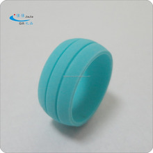 Best selling double line silicone rings at Amazon/ durable silicone wedding rings/swimming rings