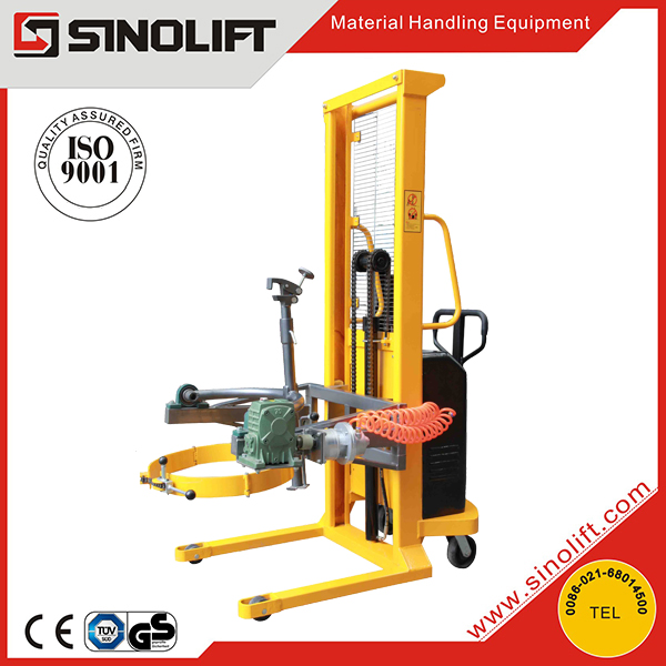 SINOLIFT DA300 300kg Capacity Pneumatic Drum Lifter Rotator
