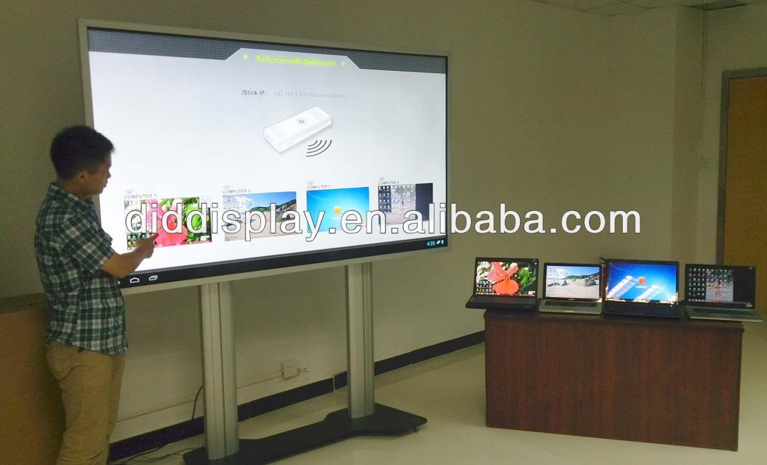 84 inch all in one touch LCD panel LCD monitor