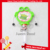 Plastic Bottle Coconut The Frog Sistrum Toy Candy
