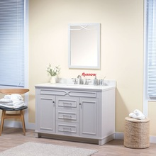 chinese supplier bathroom vanity storage furniture cabinet bath and vanity bathroom set