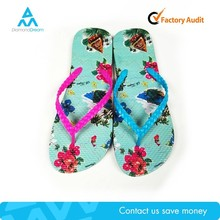 Women Digital Transfer Printing Flip Flop