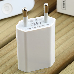 5V 1A Wall Charger USB Travel Moblie Phone EU AC Plug Power Adapter for iPhone 4/4s/5/5s/6s/6Plus for Sumsung HTC