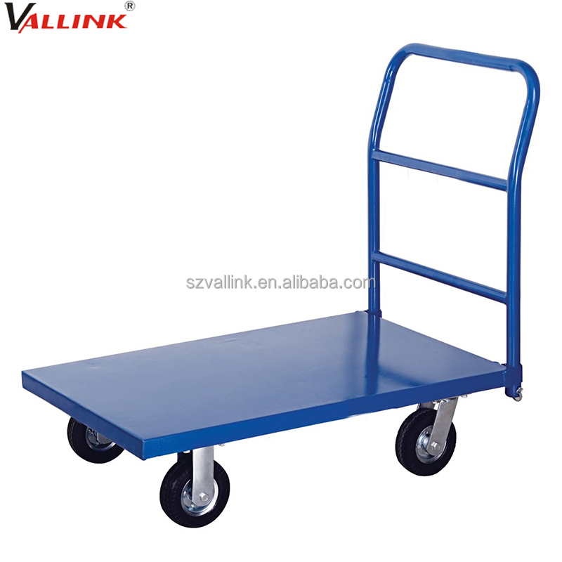 steel welded frame easy installation flatbed cart