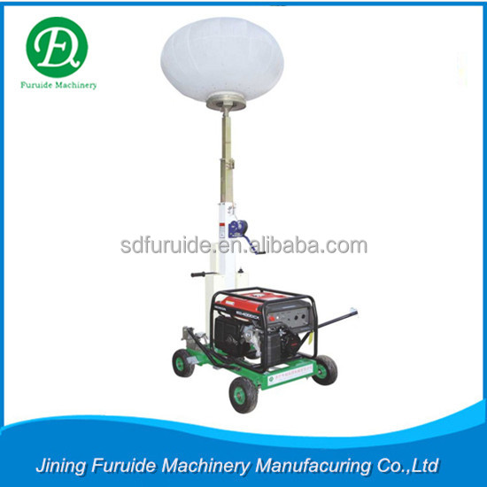 Hand-push Balloon Led Mobile Light Tower with Diesel Generator (FZM-Q1000B)