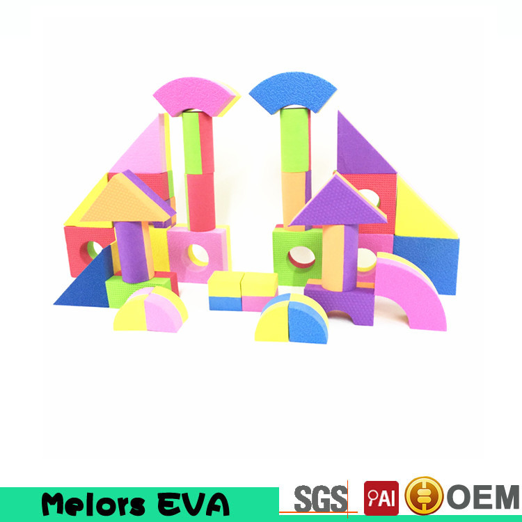 Melors Crazy Selling Baby Game Toy Eva Foam Building Blocks For Children