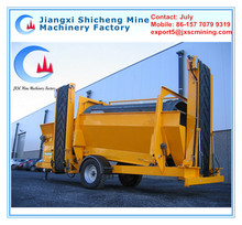 Food Waste Composting Machine,Large Trommel Screen Equipment for Organic Waste Processing