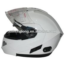 Flip up chin bar Motorcross helmet with bluetooth(ECE&DOT Approved)