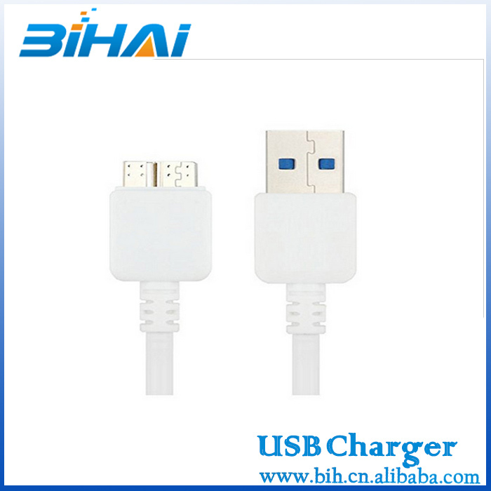 CE Wholesale micro USB3.0 data Cable For Samsung Galaxy S5 /Note3 cable with original /high copy quality