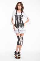 Walson Instyles lady cosplay Pirate of the Carribea Fancy Dress Sexy Pirate Costume
