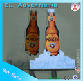 EL flashing sign higher quality el advertisement el advertisement for beer