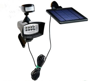 Solar Energy Sensor Light   LED Home Wall Lamp Infrared  Split Separate Lighting Spotlights Waterproof for indoor and outdoor