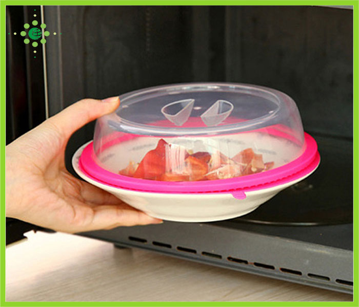 Plastic Microwave Spatter Cover For Nordic Ware