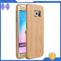 Wood Mobile Phone Cover For Samsung Galaxy S6 Edge,New design Phone Cover