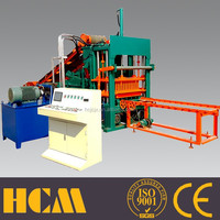 small scale industries machines QT4-15 chinese paver brick machine concrete block production line