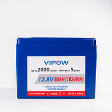 Wholesale price high capacity 12.8V 80AH storage battery