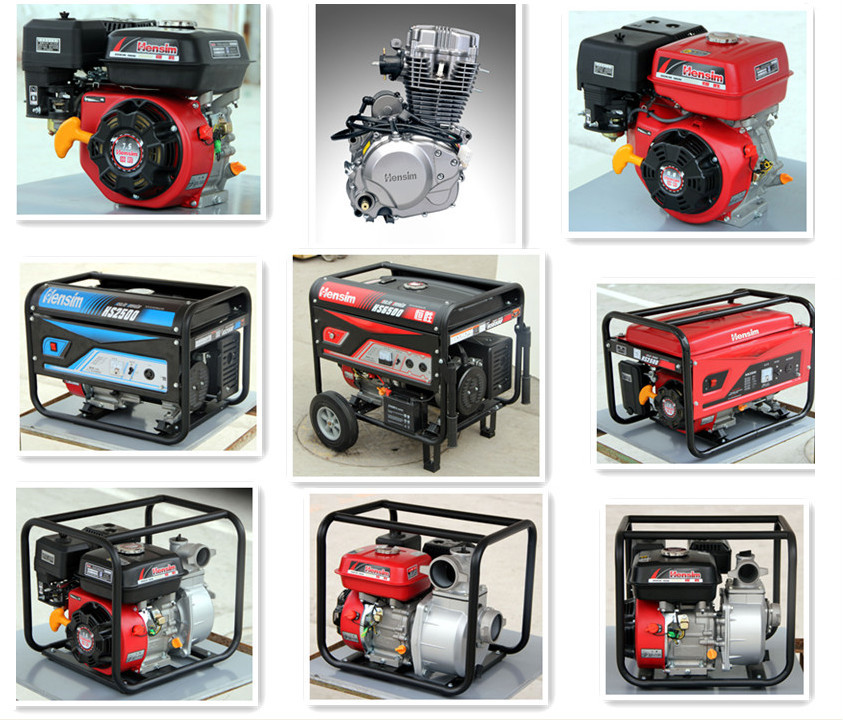 5000W rated power economic gasoline generator