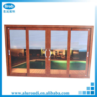 Modern Main Gate Design Aluminum Doors