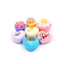 Custom Colorful Private label Bath bubble Bombs Double Gift Set with Organic Coconut Oil for Moisturizing and Fun for All Ages
