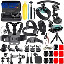 50 in 1 Kit Accessories for Gopro Hero 8 7 6 5 Sport <strong>Camera</strong> Accessory with Bracket and Protective Bag Case