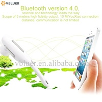 New Handfree Fashionable Wireless Mini I9500 Earhook bluetooth 4.0 headset for mobilephone