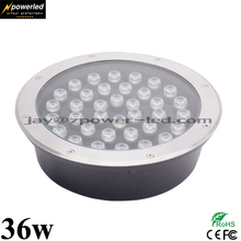 Project 36w DMX512 RGB Colors Inground Mounted Led Floor Light