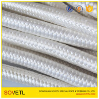 double braided polyester UHMwPE rope line for marine/ship/boat/yacht/sailing