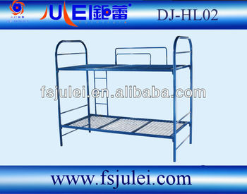 Steel Iron frame made of Solid Bunk Bed DJ-HL02