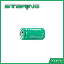 parts dry cell battery Staring IMR18350 900mAh