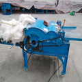 cotton opening machine, wast cotton opener, cotton waste recycling machine