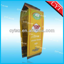 2012 New item Plastic Foil PET/AL/PE Aluminum Foil coffee bag