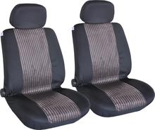 Universal Fit 4pcs Full Set Jacquard Fabric Breathable Comfortable Car Seat Cover