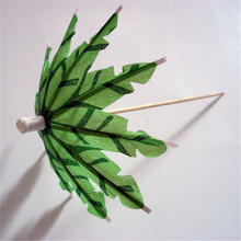 Food decoration umbrella Windmill Fruit fork bamboo Cocktail sticks