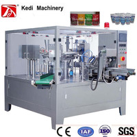 Rotary packaging machine(stand-up & zip pouch) for liquid(GD8-200B)