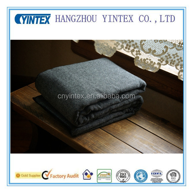 Soft Natural 100% Wool Blanket