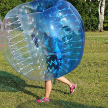 Newe Funny sport game 1.5m (5ft ) Diameter giant bubble bumper ball football