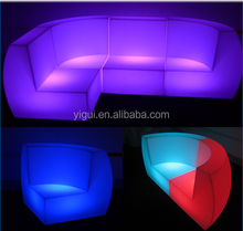 Modern Outdoor furniture wedding led bar table and chair sofa