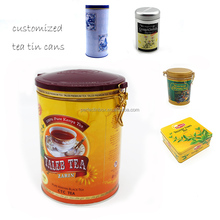 Fancy Custom printed cheap round tea tin wholesale