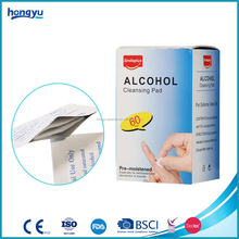 Hot selling product 70% isopropyl alcohol pre pad