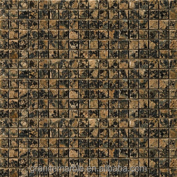 Brown granite mosaic tile for mosaic floor and wall with low price