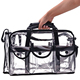 2016 new hotsell transparent pvc travel cosmetic bag, pvc cosmetic bag, pvc make up cosmetic bag