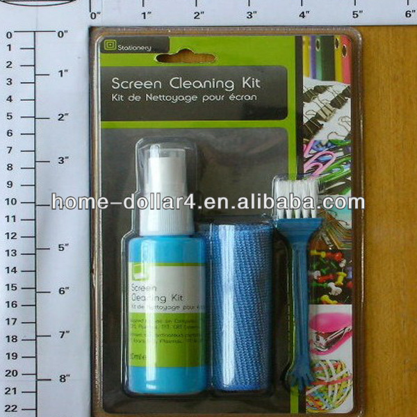 Office Easy Use Tablet lcd screen cleaning kit/ laptop screen cleaning kit/Screen Cleaning Kit