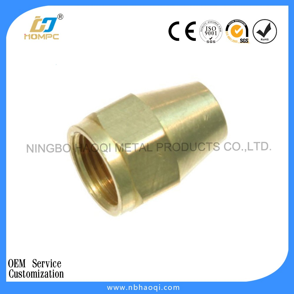 Brass 1/2'' female pipe reducer adapter